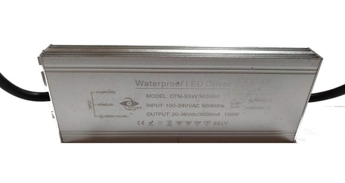 Led Driver 100w 3a Ip67 - Sd Electronica