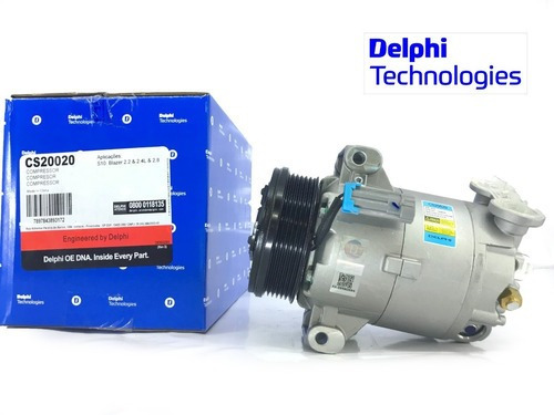 Compressor De Ar S10 2.4 Gas/2.8 Diesel + Brinde