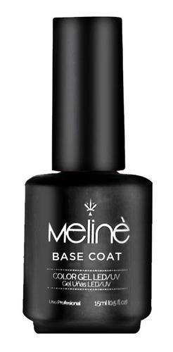 Esmalte Base Coat Semipermanente Meliné X15 Ml