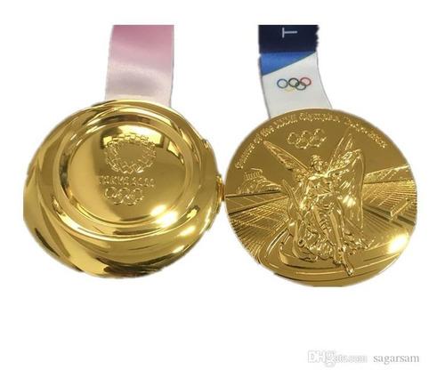 Medalha Da Olímpiada Japão Tóquio 2020 Tamanho Original