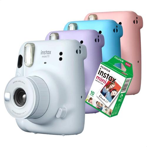 Instax Mini Câmera Instantânea Fujifilm Lançamento 10 Fotos