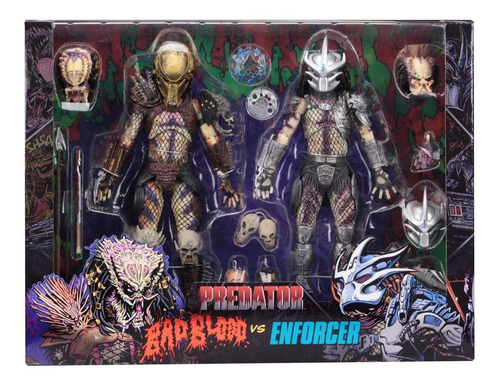 Neca Predator Ultimate Bad Blood & Enforcer Two-pack