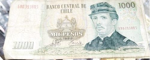 Billete Chile 1000 Pesos