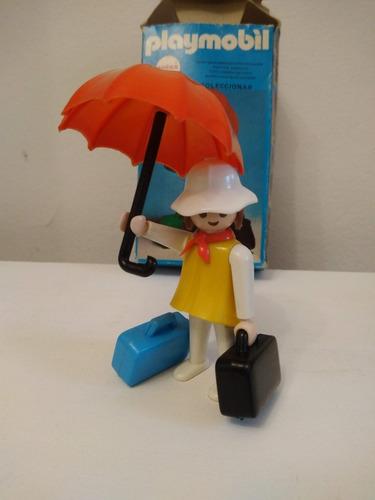 Playmobil 3322 Original Completo Viajera Paragua Caja Retro