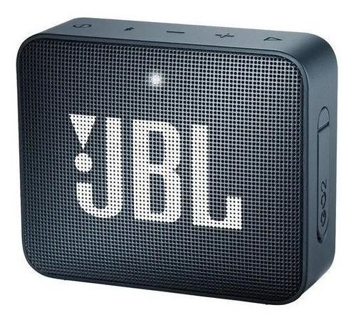 Parlante Jbl Go 2 Portátil Con Bluetooth Slate Navy 110v/220v