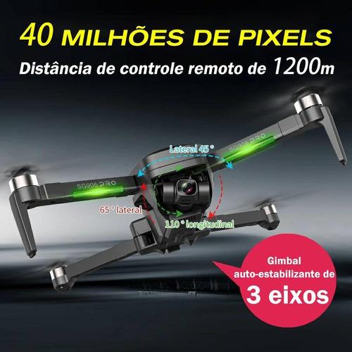 Drone Sg 906pro2 Gps 4k Estabilizador 3 Eixos Motor Brushles