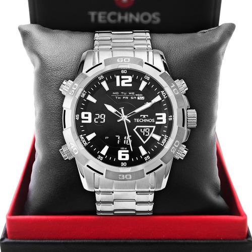 Relógio Technos Masculino Digiana Prata