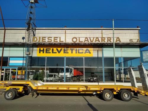 Acoplado Carreton Montenegro 0 Km Nuevo