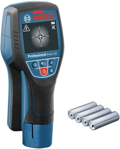 Detector De Materiales Y Pvc Bosch D-tect 120