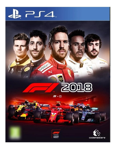 F1 2018 Codemasters Ps4 Digital