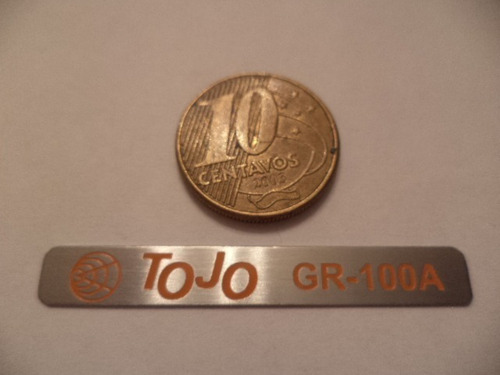 Tojo Gr 100 , Chapinha Do Painel , Muito Bonita