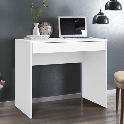 Escrivaninha Com 1 Gaveta Facility Branco
