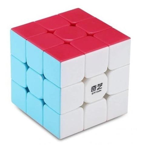 Cubo Mágico Profissional 3x3x3 Qiyi Warrior W Stickerless