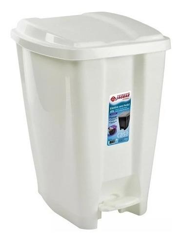 Lixeira 20 Litros Pedal - Lixo Chao Cozinha Banheiro Cesto