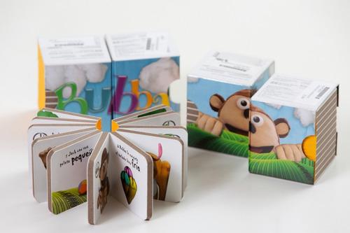 Set Mini Libros Bubba Estimulacion Temprana
