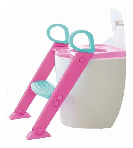 Assento Redutor Infantil Com Escada Para Vaso Sanitário Baby