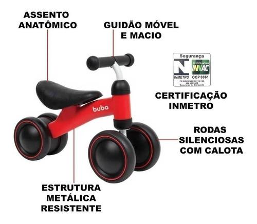 Bicicleta Equilíbrio Andador Sem Pedal Infantil Bebe