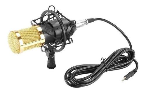 Micrófono Fifine F-800 Condensador Negro