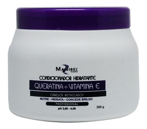 Mascara Hidratante Mairibel Queratina 500g Cabelos Ressecad. Original