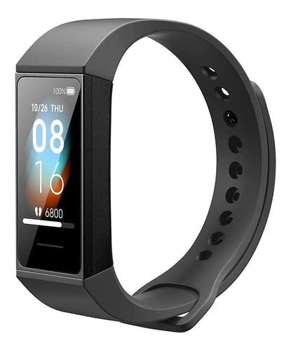 Xiaomi Mi Smart Band 4c 1.08  Caja De Plástico Pc Graphite Black Malla Graphite Black De Tpu Hmsh01ge