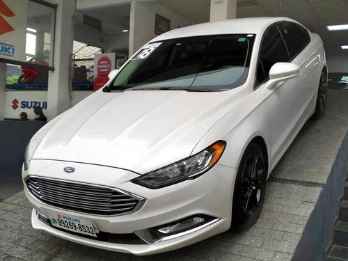Ford Fusion 2.0 Sel 16v Automático 2018 Branco