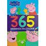 Livro Para Colorir 365 Desenhos Peppa Pig Infantil Criança