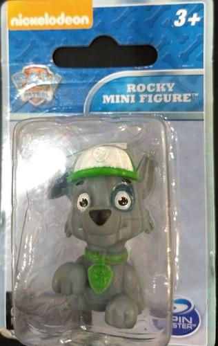 Muñeco Paw Patrol Rocky Spin Master Mini Coleccion Rdf1