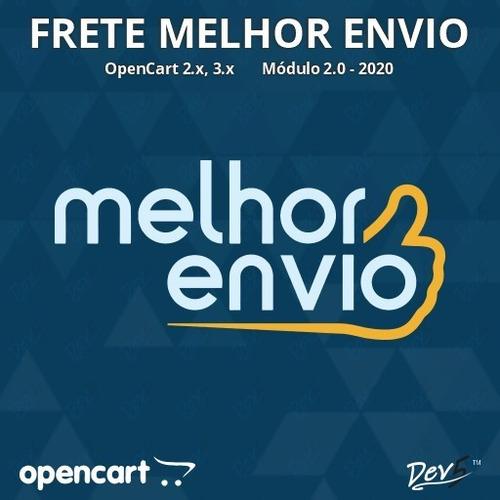 Módulo Frete Melhor Envio - Opencart 2x,3x,4x - Dev5