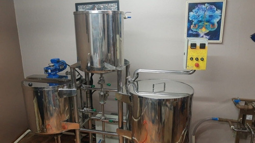Cervejaria Tribloco Serra Inox Para 100 Litros