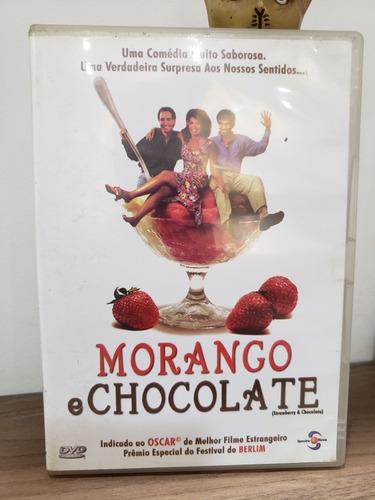 Dvd Filme Morango E Chocolate- Raro!