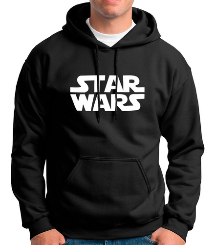 Blusa Star Wars Moletom Canguru