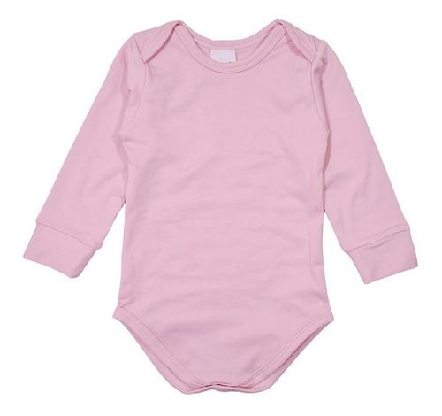 Kit 3 Body Bebê Térmico Apeluciado P/ Frio - Diversas Cores