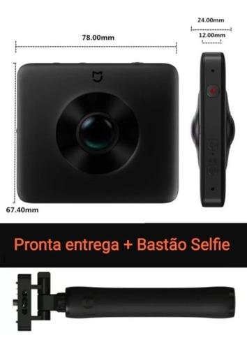 Câmera Panorâmica Xiaomi Sphere 360 Mijia 3.5k Bastão Selfie