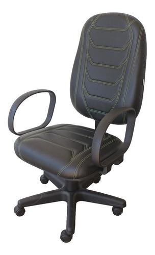 Cadeira Presidente Gamer Spider Efx Giratória Braços Corsa