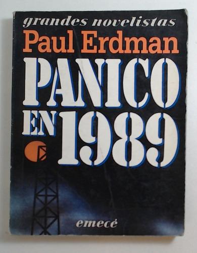 Panico En 1989 - Erdman Paul