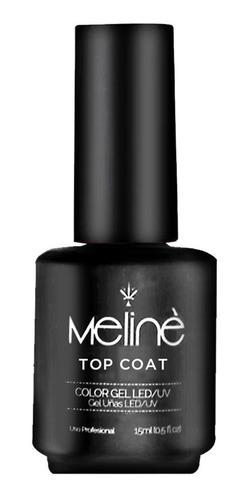 Esmalte Top Coat Semipermanente Meliné X15 Ml