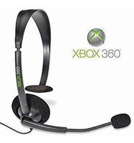 Fone Headset Xbox 360 Preto Original Microsoft