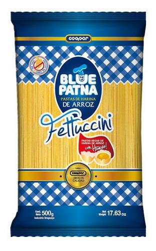Fideos Fetuccini Blue Patna 500 Gramos X1 Unidad Sin Tacc