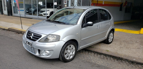 Citroen C3 Exclusive 2012 Plateado Financio Permuto