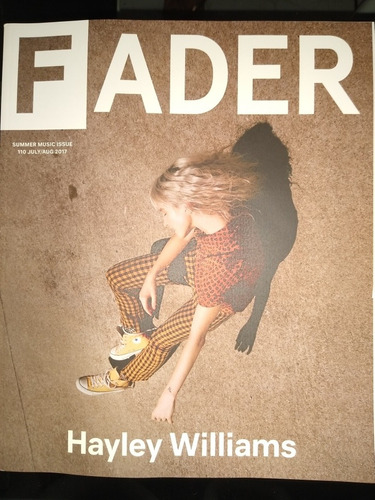 The Fader 110 Julho/agosto 2017 - Hayley Williams Paramore
