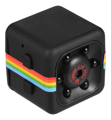 Câmera De Vídeo Cameramini Cube 1080p Hd Ir Visão Noturna