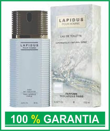 Perfume Ted Lapidus 100 Ml Made In France Original Garantia