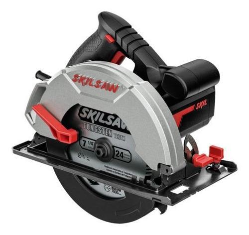 Serra Circular Elétrica Skil 5200 184mm 1200w 50hz/60hz Preta/vermelha 220v