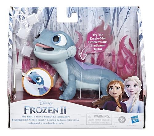 Frozen 2 Bruni Salamandra Mascota De Elsa Cambia Colores
