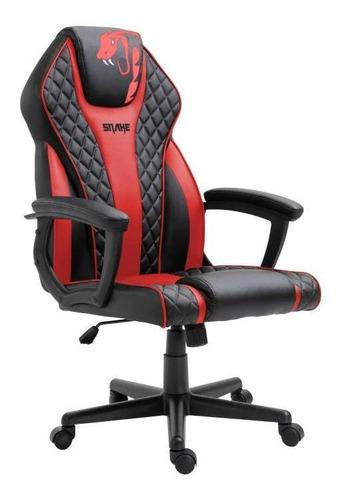 Cadeira Gamer Snake Naja Vermelha - 411