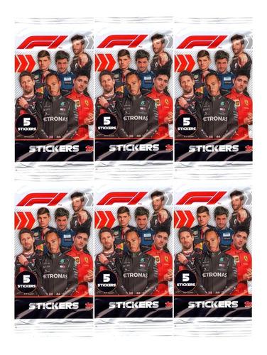 100 Figurinhas F1 2020 Formula 1 2020 (20 Envelopes)
