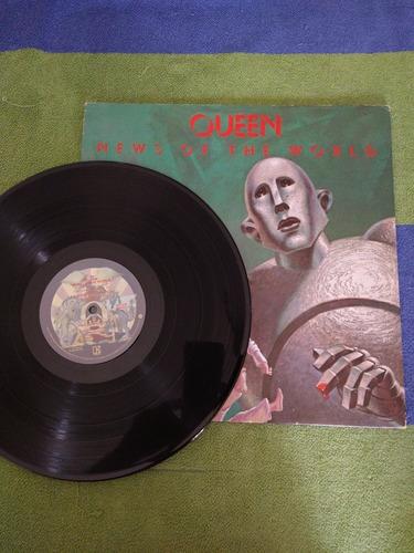 Disco Vinilo Queen - News Of The World - 1977 - Elektra