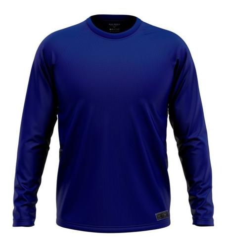 Camisa Camiseta Pesca Proteção Solar Uv50 Dryfit Termica