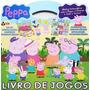Peppa Pig Livro De Jogos