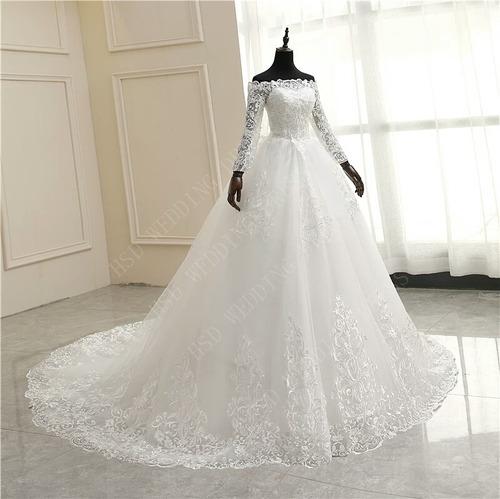Vestido De Noiva Princesa Sereia De Festa Longo